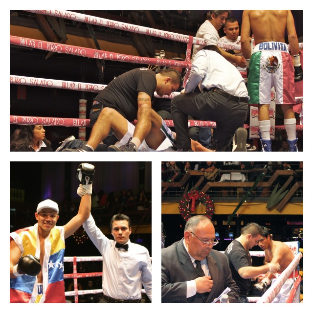 JOSE UZCATEGUI DOES Jose Uzcategui did away with Gilberto Flores Hernandez in record time.