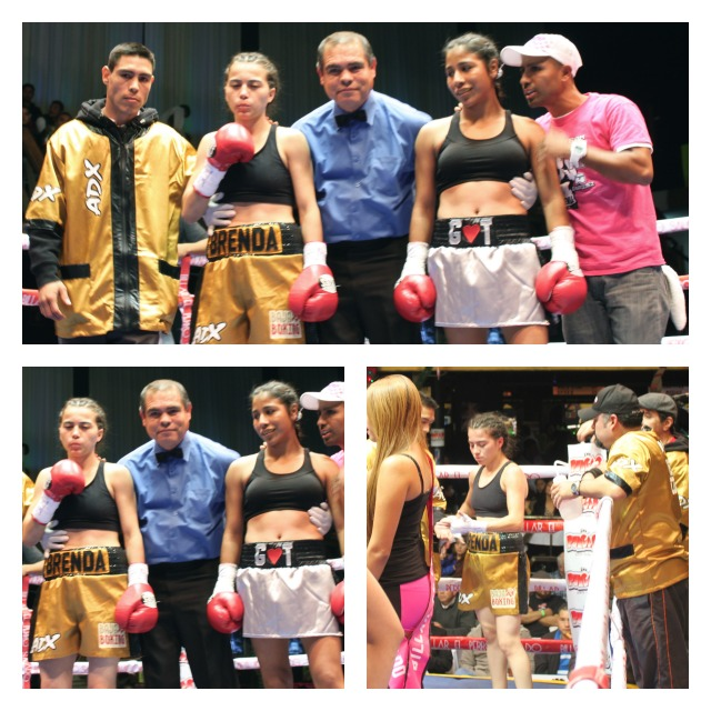 As amateurs, Kenia Enríquez and Brenda Flores fought four times. Each had won twice.