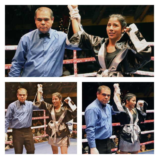 Even though she's still in high school, Kenia Enriquez intends to go uninterrupted to fight for the World Title.