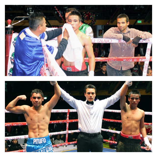 Super bantamweights Rafael Rivera (3-0-1, 2 KOs) and Juan Gomez Torres (2-4-0, 1 KO) battled it out for a draw.