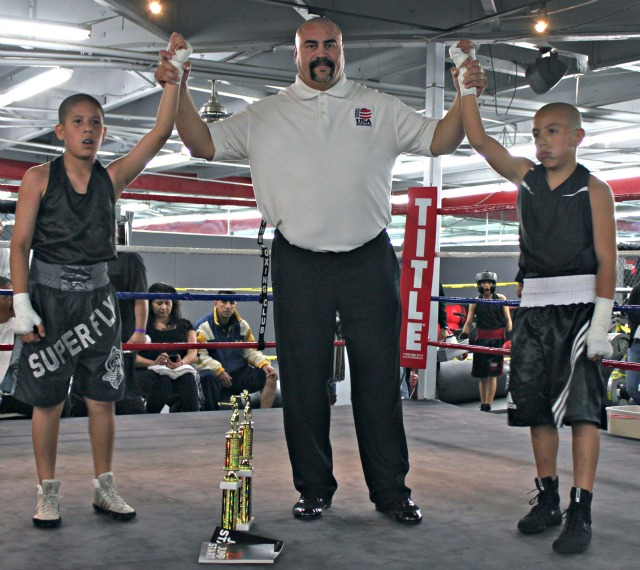 In Bout 7, it was Alan Ramirez of Penacho Boxing over Carlos Sanchez of the Alliance Training Center of Chula Vista, CA.