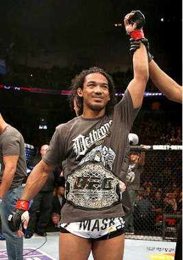 """UFC selects Benson Henderson as their """"Top Fighter of the Year""""."""