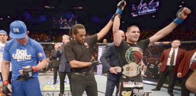"""""""First, Juan Manuel Marquez gets the much deserved definitive win over Manny Pacquiao and now Cain Velasquez dominates Junior Dos Santos. What a great year for Mexico."""" Mark Francisco, Quezon City, Philippines."""