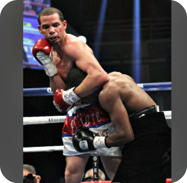 The roughhousing incorporating the headlock, head-butting, grabbing and holding was on display Saturday at the Richard Abril versus Sharif Bogere match for the WBA Lightweight World title.