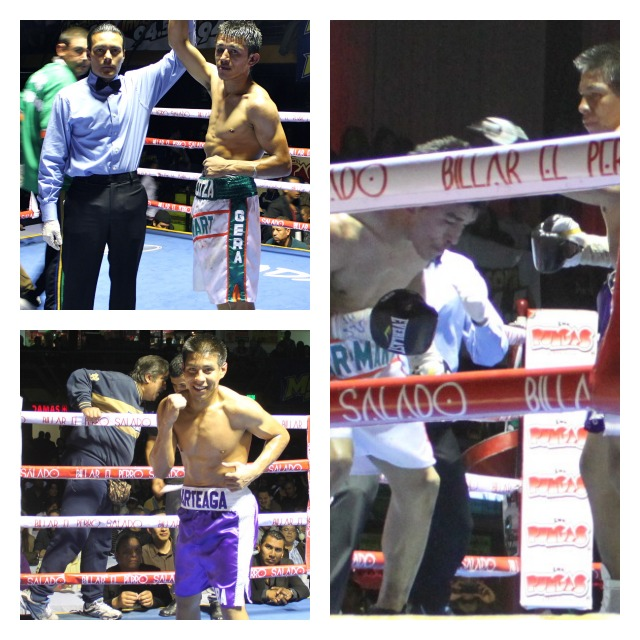 Welterweight Gerardo Posos (1-0), in his pro-debut, won a split-decision victory over Jose Arteaga (1-1).