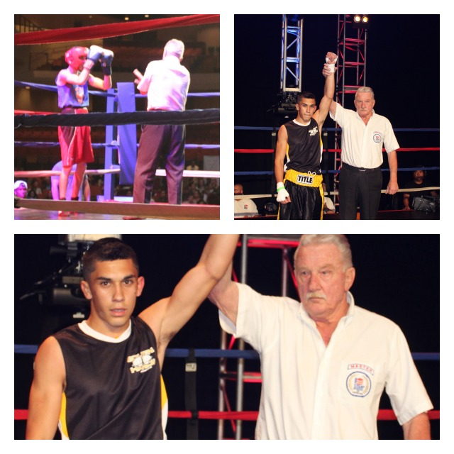 In Bout #7, it was Robert Lopez getting the TKO victory over Thair Ramirez.