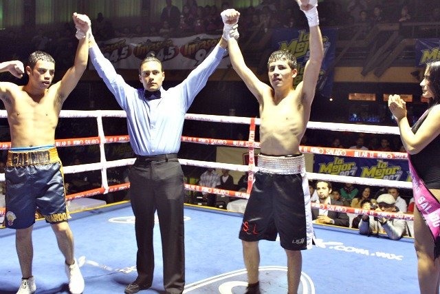 Even though their bout ended in a draw, the Jose Galvez versus Eduardo Galindo bout was