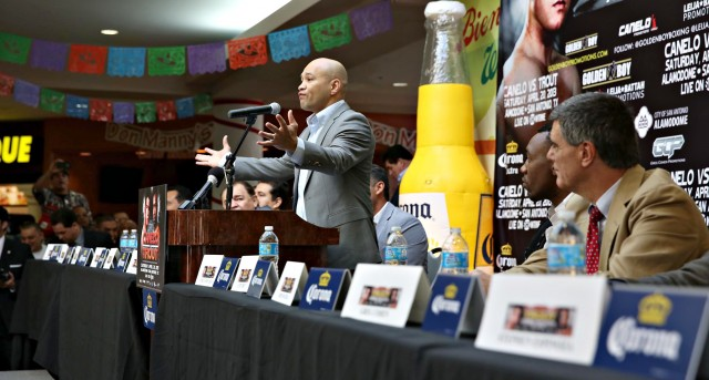 "Jesse James Leija, Texas Boxing Legend:   ""We brought the big fight here, now we need your help."