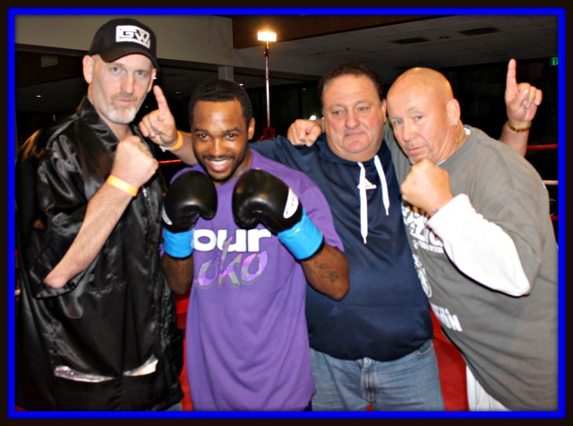 After knocking out Eduardo Rivera at the Four Points By Sheraton Hotel on February 21, 2013, Kevin Hoskins' career appeared to be on the fast track to fame and fortune. Photo: Jim Wyatt