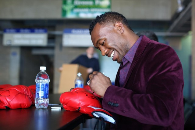 Not to forget Austin Trout, the debonair boxer has always been a fashion plate.