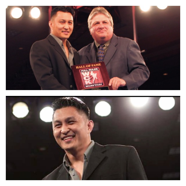"On Saturday night, Melchor Menor aka ""Coach Mel"" became the first fighter inducted into the WCK Muay Thai Hall of Fame."