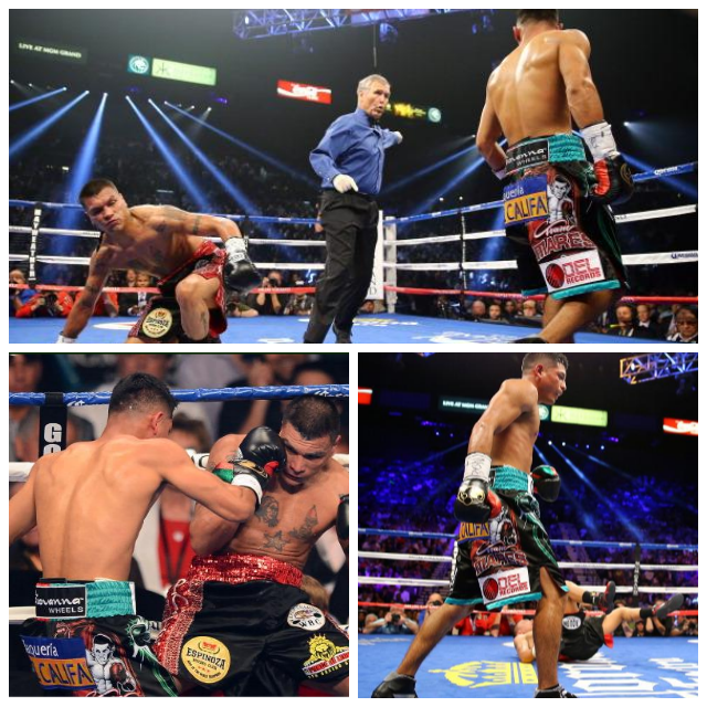 The Abner Mares TKO win over Daniel Ponce De Leon was a very  entertaining bout.