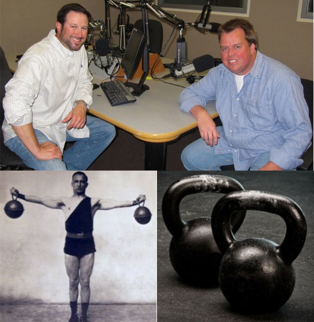 Anyone familiar with sports talk radio has heard of the sidekicks Dave & Jeff, Dave Palet (l) and Jeff Dotseth (r), the guru of physical fitness.