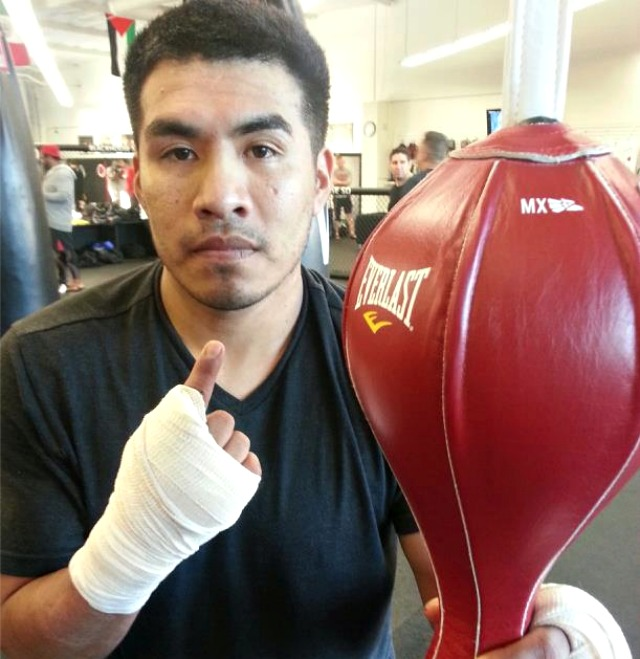 """On May 24, 2013, After a one year and seven month hiatus/breather Aaron """"Gavilan"""" Garcia makes his triumphant return to the ring."""