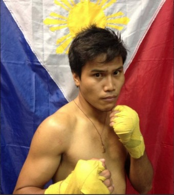 """Anecito """"Dondon"""" Gesta, Jr. (2-1-0) a southpaw who is originally from Cebu, Philippines, but now fights out of San Diego. A nursing student back in his home country, Gesta Jr. is the younger brother of world-ranked and former title challenger Mercito """"No Mercy"""" Gesta."""