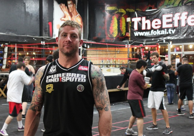 Todd Vance has found his home at the friendly confines of the Undisputed Fitness and Training Center in North Park, San Diego, CA. Photo: Jim Wyatt