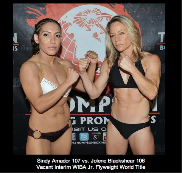 640 Sindy Amador vs Jolene Blackshear