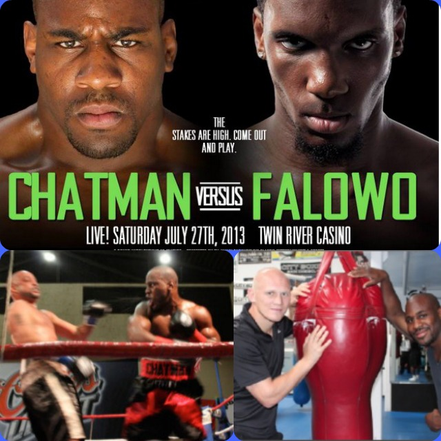 Chris Chatman vs Thomas Falowo