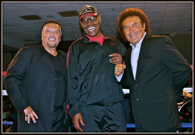 Bobby D Leon Spinks and Benny Ricardo