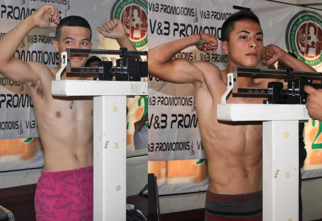 "In Bout #8 they have 16-year-old Victor ""Chaky"" Sandoval in his pro debut going up against"