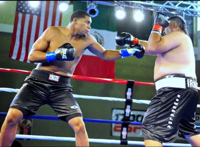 """Regardless of his performance, even without landing a punch and lasting just 59 seconds, Francesco """"Taz"""" Mireles can now tell his friends that he once fought Michael Hunter, the 2012 Olympian."""