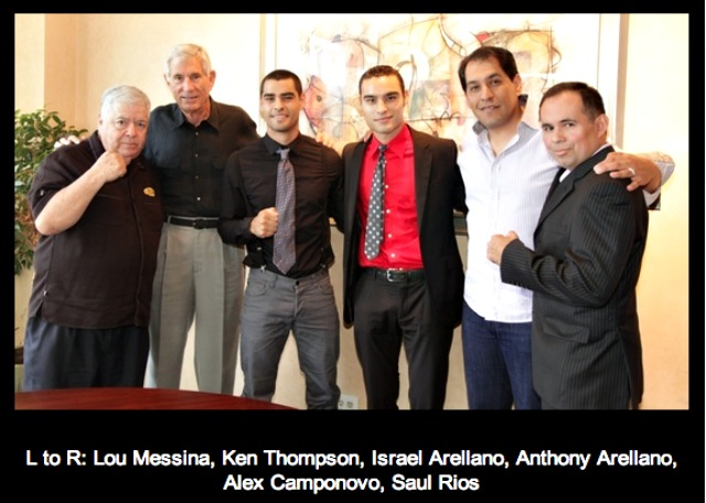 Arellano brother sign with Thompson Boxing Promotions