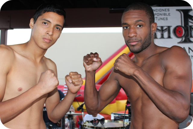 Johnny Rivera versus Mike Haigood