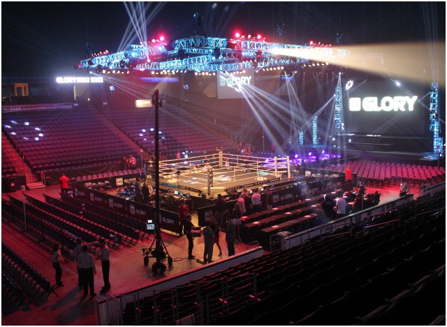 Since its Grand Opening on October 18, 2008, this sparkling arena has hosted numerous fighting shows. The first was back on November 28, 2008 with local boxing favorite Chris Arreola going up against Travis Walker plus Paul Williams taking on Vernon Phillips. Photo: Jim Wyatt
