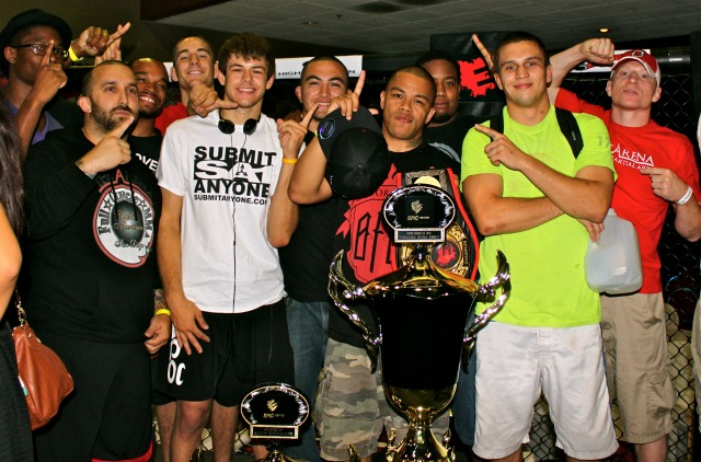 After dominating the last show at the Four Points By Sheraton Hotel on , The Arena MMA Team is claiming they are ready to take it to the next level. Photo: Jim Wyatt