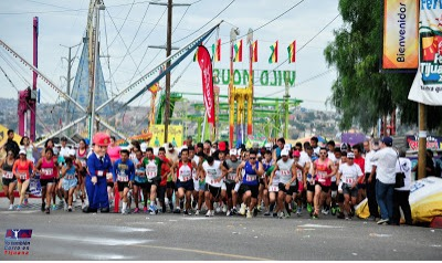 The start of Sunday's race in Tijuana.