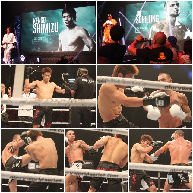 The Joe Schilling beat down of Kengo Shimizu took place in Bout #12.