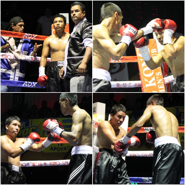 In Bout #1, it was it was Fidel Bautista (0-1-0) of Tijuana taking on the debutant, 21 year-old Jessie Resendiz
