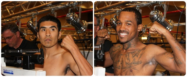 In the Main Event Aaron Garcia (left) will be facing Kevin Hoskins (r).