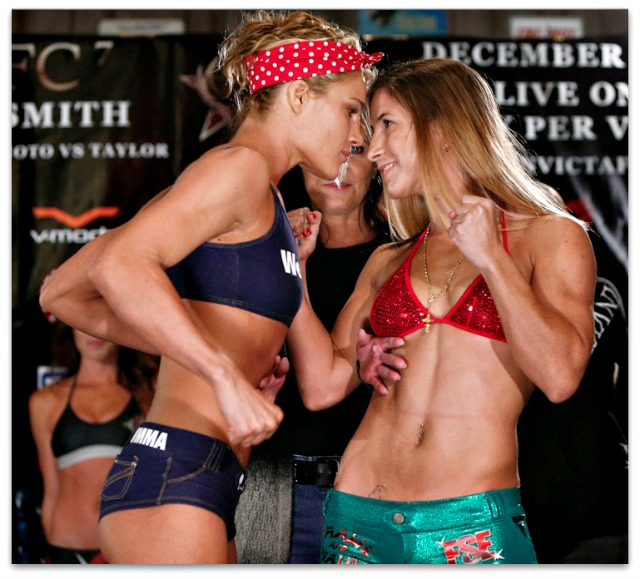 The Felice Herrig (left) versus Tecia Torres (right) should be a doozy.