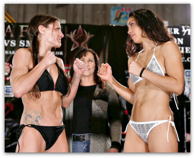 "Saturday night's Invicta Fighting Championships 7 features more than its share of exciting match-ups. The Miriam ""Queen of Mean"" Nakamoto match against Lauren Murphy will be a battle royale between two of the top female strikers. All photos: Esther Lin"
