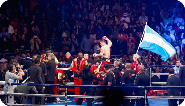 Marcos Maidana handles Adrien Broner. If you're counting, that's two down and one to go. First, it was the delusional, wannabe hoodlum Brandon Rios, then, the narcissistic Mr. Broner. Who's next? Could Floyd be the next egocentric personality to fall from grace?