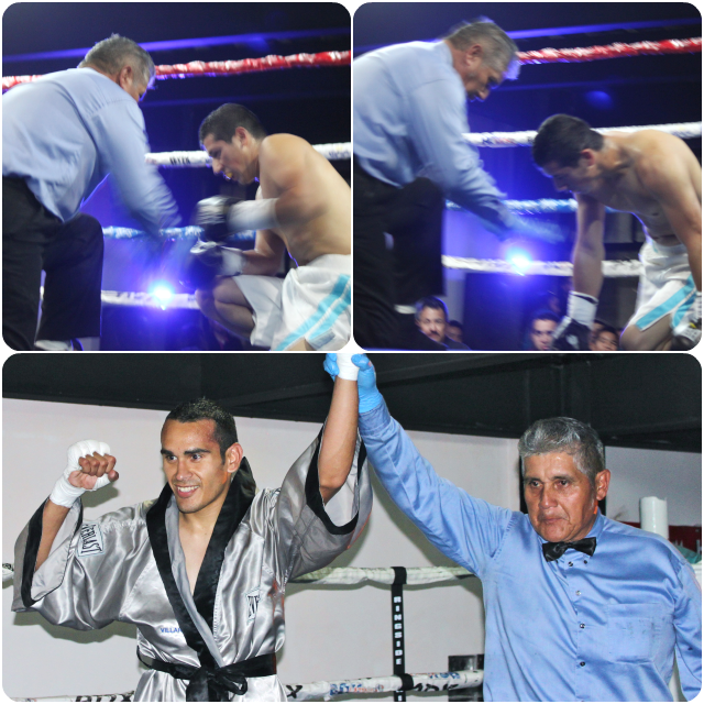 Following in your father's footsteps can be a daunting task. After Jose Luis Ramirez Jr. secured his sixth victory. If he's out to surpass his father's accomplishments, he only has 97 victories and 80 TKOs to go.