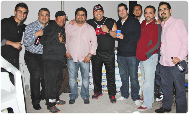 Long after the boxing show ended, the Morales brothers, Ivan and Diego went on to entertain their friends and patrons. When it comes to hospitality, it appears the customers are in charge