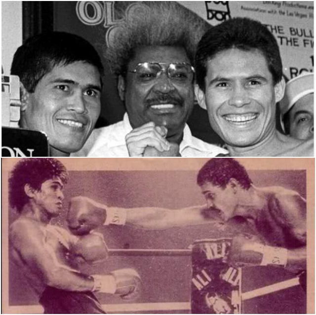 """Over a career that spanned 17 years, Ramirez's dad had a remarkable record of 102-9-0, with 82 KOs). Less we forget, this Hall of Famer faced such notables as Pernell Whitaker, Julio Cesar Chavez, Ruben Olivares, Hector Macho Camacho, Cornelius Boza-Edwards, Terrence Ali, Edwin Rosario, Alexis Arguello and Ray """"Boom-Boom"""" Mancini."""
