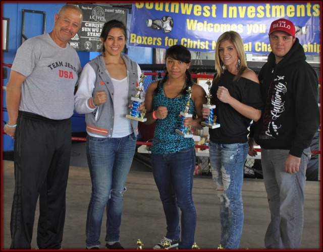 Also, some more of the top female boxers were presented trophies.