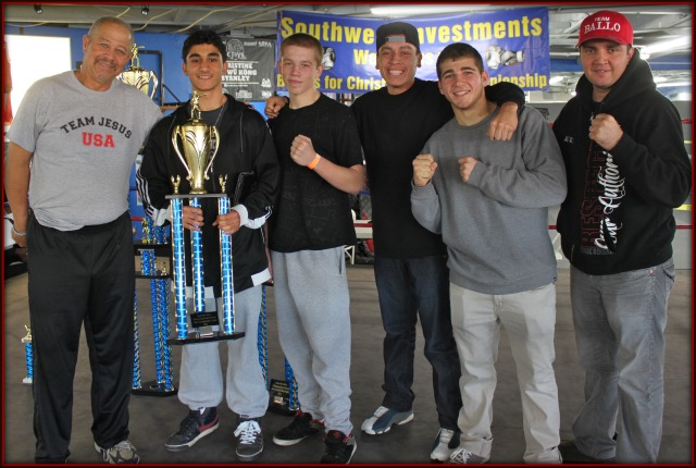 Another team trophy went to Old School Boxing of San Diego.