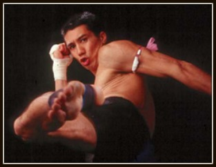 "Alexander ""F-14"" James Gong was an American Muay Thai kickboxing champion."
