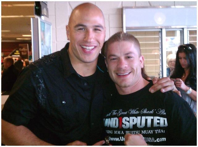 Fellow gym owners Brandon Vera (l) and David Ventura (r) had nothing but nice things to say about Mark Dion even though they were always caught up in a fierce battle for the same coaches and gym members.