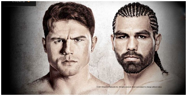 "On Saturday, March 8, 2014, Saul ""Canelo"" Alvarez will face Alfredo ""Perro"" Angulo. If the event is a success, it's because the promoters did all they could to sell the product."