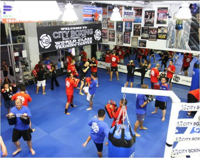 City Boxing Gym on 14th Street in downtown San Diego. Photo: Jim Wyatt