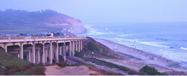 """The 2010 United States Census reported that Del Mar had a population of 4,161. Now with Alvarez and his clan living there that number should be going up substantially. Del Mar is the home of the Del Mar Racetrack on the Del Mar Fairgrounds where each year the San Diego County Fair takes place. The other notables who live there or were former residents include a who's who from the Sports and Entertainment world.  During the late '60s, Desi Arnaz maintained a residence in North Del Mar on the beach west of Highway 101 near the Del Mar Racetrack after his divorce from Lucille Ball. Desi was once arrested for brandishing a firearm while ordering people off his beach.  Songwriter Burt Bacharach and actress Angie Dickinson had a beach residence in north Del Mar near 26th street. The current quarterback of the New Orleans Saints, Drew Brees lived in Del Mar while playing for the Chargers. The late, great comedian/singer Jimmy Durante lived on the beach for many years and even has a street named after him. Rachel Flatt, 2010 Olympian, 2010 US Champion, three-time US Silver medalist and 2008 World Junior Champion figure skater, was born in Del Mar. Skateboarder and business entrepreneur, Tony Hawk was raised in Del Mar. San Diego Charger's placekicker Nate Kaeding must still live in Del Mar. George R. Lunn, former US Congressman and Lt. Governor of New York was a resident. Quarterback of the Arizona Cardinals Carson Palmer was a resident. Former lead singer of the rock band Journey, Steve Perry lives in Del Mar. Zandra Rhodes, celebrity fashion designer, splits her time between homes in Del Mar and London. Anthony Robbins, the self-help writer and professional speaker, previously lived in """"The Castle"""" in Del Mar. The quarterback of the Green Bay Packers, Aaron Rodgers, might still be a resident. Jockey Willie Shoemaker lived in North Del Mar on beach west of US 101 near the Del Mar Racetrack.   The former head coach of the San Diego Chargers, Norv Turner, used to live in Del"""