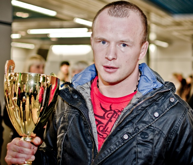 Bellator MMA's Middleweight World Champion Alexander Shlemenko.