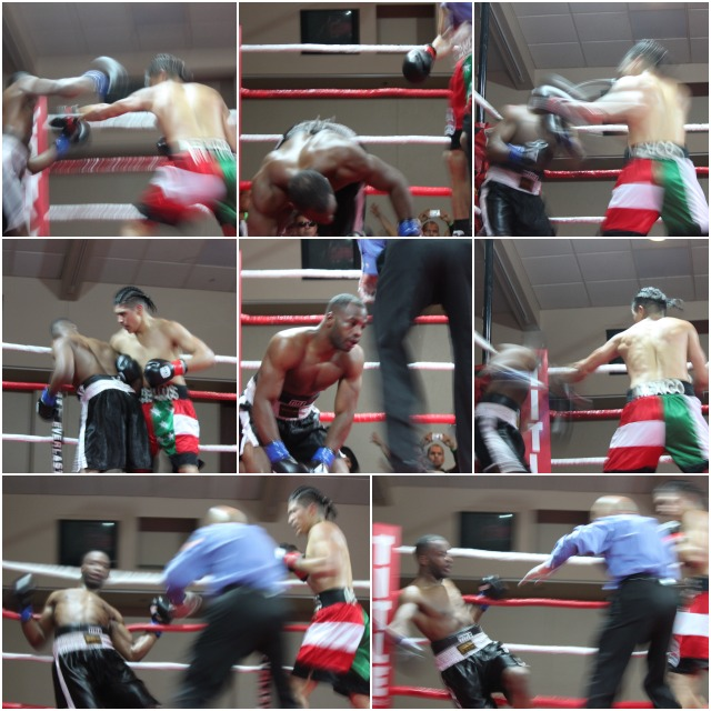 "The nonstop pummeling from Manuel ""El Venado"" Ceballos happened so fast it must have been as blurry as these photos."