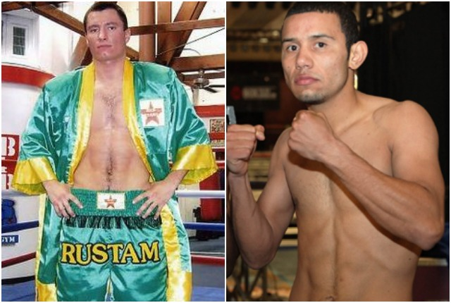 "In Bout #1, they have Rustam Nugaev (26-6-1, 16 KOs) going up against Marvin ""Cachorro"" Quintero (25-4-0, 21 KOs) who fought only twice in 2012 and not once in 2013. All photos: Jim Wyatt"