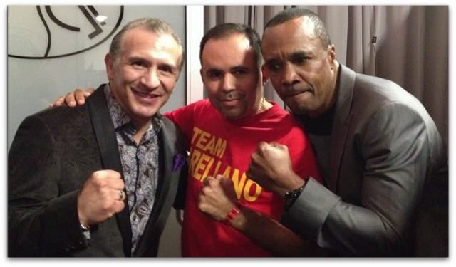According to Saul Rios Carrasco (c), former boxer and now co-manager of boxer Israel Arellano, 16th Marconi
